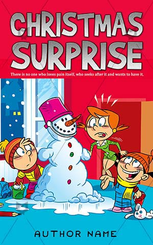 Children-book-cover-christmas-cartoon-surprise