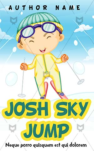 Children Book cover Design - Story Book