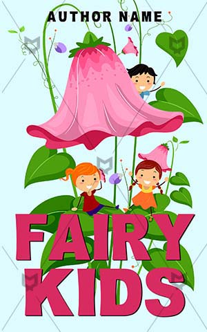 Children-book-cover-fairy-kids-cartoon