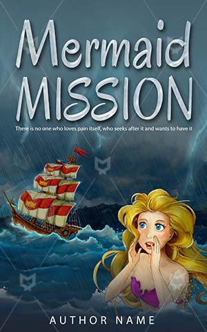 Children-book-cover-kids-mermaid-mission