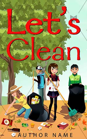 Children-book-cover-clean-kids-environment