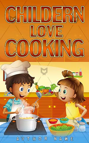 Children-book-cover-children-cook-love