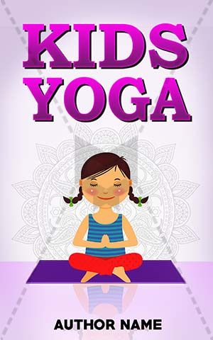 Children Book Cover Design Kids Yoga