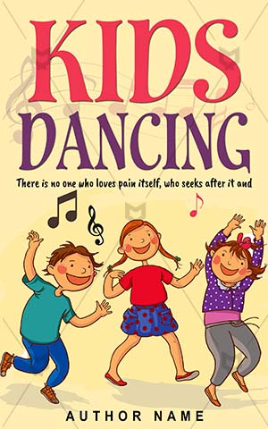 Children-book-cover-Kids-Dance-Dancing-children-illustrations-Cute-Cartoon-Kindergarten