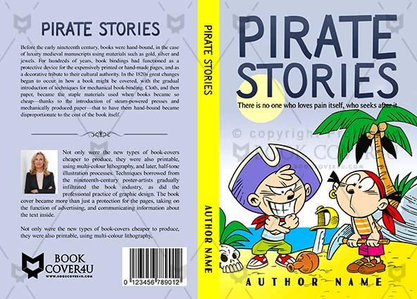 Children Book cover Design - Pirate Stories
