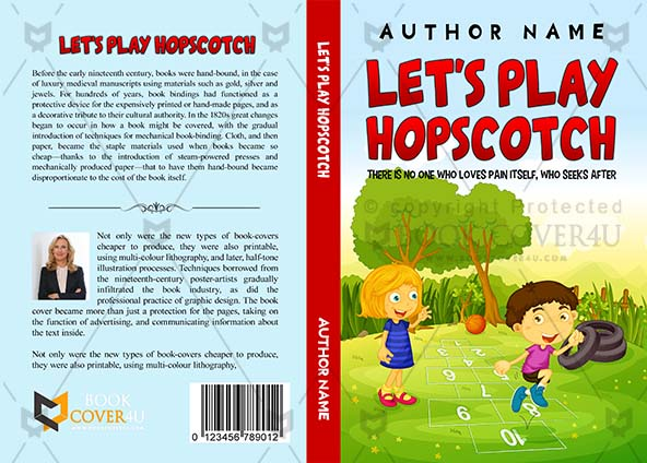 picture about Printable Game Covers called Kids Guide include Style and design - Permits Enjoy Hopscotch