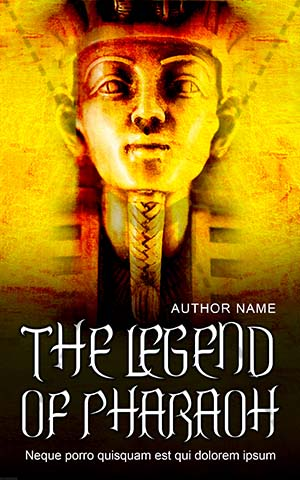 Educational-book-cover-legend-pharaoh