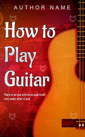 Educational-book-cover-Abstract-Guitar-designs-Acoustic-guitar-Illustration-Traditional-Sound-Music-Musical-Instrument-Learn