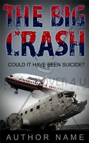 Fantasy-book-cover-MH-370-plane-crash