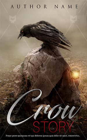 Fantasy-book-cover-scary-horror-crow