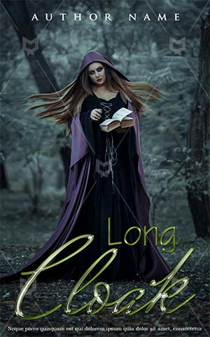 Fantasy-book-cover-witch-woman-zombie-scary-forest