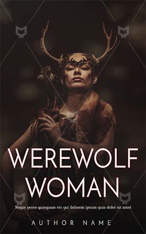 Fantasy-book-cover-woman-scary-zombie-horror-wolf