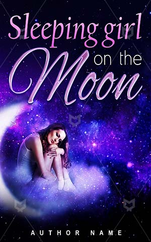 Fantasy-book-cover-moon-girl-sleep