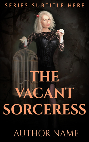 Fantasy-book-cover-Sorcerer-lady-Vacant-magic