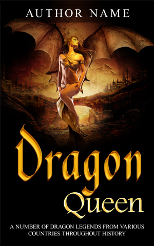 Fantasy-book-cover-dragon-queen-historical