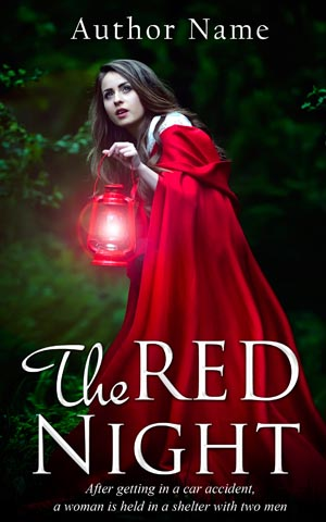 Fantasy-book-cover-night-princess-red-riding-hood