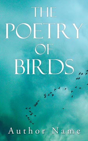 Fantasy Book Cover Design The Poetry Of Birds Front