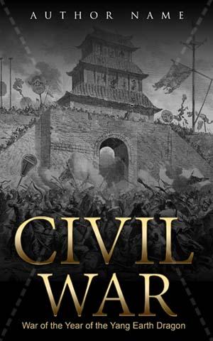 Fantasy Book cover Design - Civil War