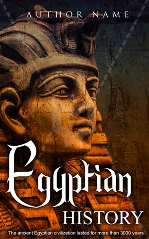 Fantasy Book cover Design - Egyptian History