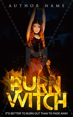 Fantasy-book-cover-death-burn-witch-fiction-horror