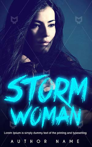 Fantasy-book-cover-Blue-Beautiful-Premade-covers-fantasy-Goddess-Woman-Beauty-Girl-Storm