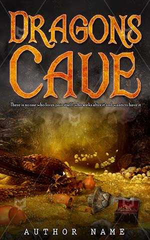 Fantasy-book-cover-Dragon-Cave-Illustration-Jewel-dragon-kingdom-Treasure-Gold-Mountain-Dark-Sleeping-covers-Dragons