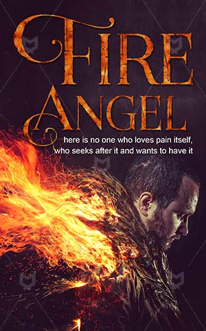 Fantasy-book-cover-Fire-Angel-dark-sky-angel-Hell-Darkness-wings-Fallen-Ghost-Wings-Demon