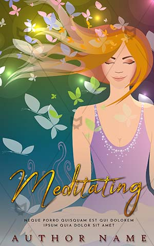 Fantasy-book-cover-fantasy-covers-Meditation-health-snow-princess-mindfulness