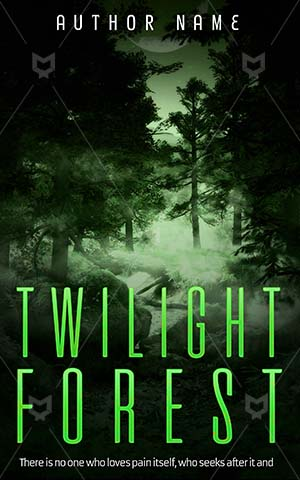 Fantasy-book-cover-Forest-Twilight-Green-Elegance-Fog-Night-Dark-fantasy-covers-Woods-Nature-Mystical-Foggy