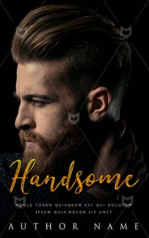 Fantasy-book-cover-Handsome-Man-Book-Design-Bearded-Gangster-Romance-Ebook-Cover