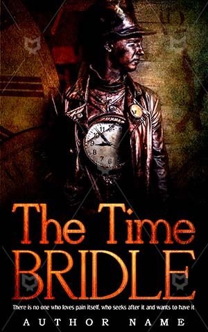 Fantasy-book-cover-Men-Time-Bridle-Symbol-for-fantasy-Wooden-Grunge-Fairy-Tale-Watchmaker-Colorful-Beautiful-Dark-Carpet-Dream