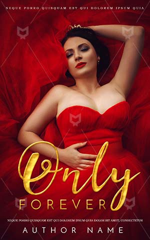 Fantasy-book-cover-Red-Frock-Queen-Book-Covers-Princess-Cover-Design-Beautiful-Woman-Gorgeous-With-Dress