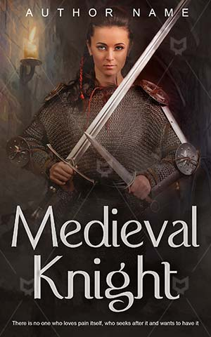 Fantasy-book-cover-Sword-Soldier-Warrior-The-worrior-Fighter-Medieval-Knight-Girl-Weapon-History