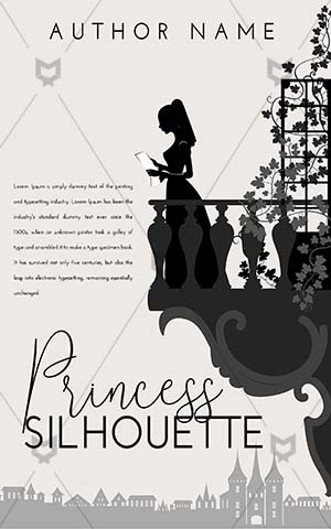 Fantasy-book-cover-Woman-Reading-Kingdom-Balcony-Letter-Illustration-Princess-Romantic