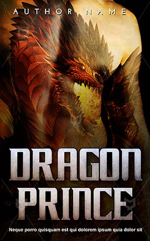 Fantasy-book-cover-Young-Man-Torso-Dragon-Attractive-Prince-Beauty-Charming
