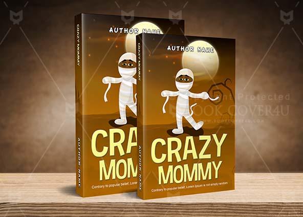 Horror Book cover Design - Crazy Mommy