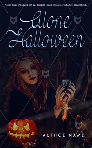 Horror-book-cover-halloween-women-scary-party-pumpkin-witch