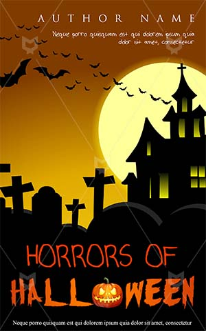Horror-book-cover-halloween-cemetery-scary-house-spooky