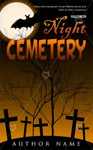 Horror-book-cover-halloween-scary-cemetery-moon-tree