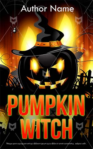 Horror-book-cover-pumpkin-scary-spooky-fire-halloween