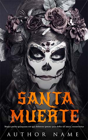 Horror-book-cover-halloween-scary-mask-women-dress
