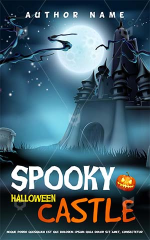Horror-book-cover-castle-halloween-spooky-haunted