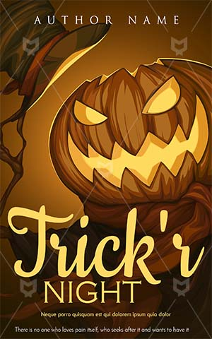 Horror-book-cover-pumpkin-halloween-scary-party