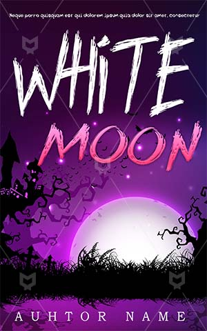 Horror-book-cover-moon-halloween-scary-white