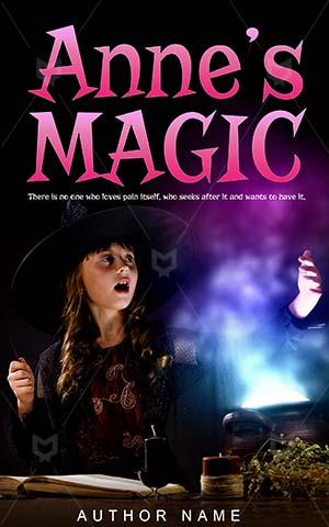Horror-book-cover-magic-halloween-kids