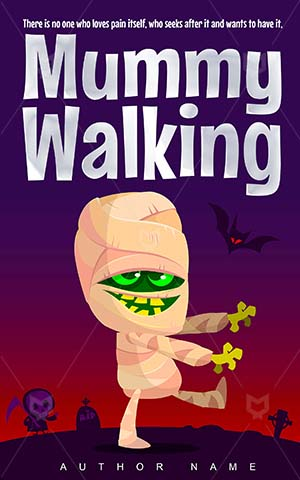 Horror-book-cover-mummy-funny-walking