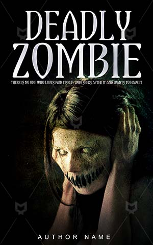 Horror-book-cover-deadly-evil-zombie