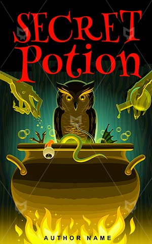 Horror-book-cover-secret-halloween-potion