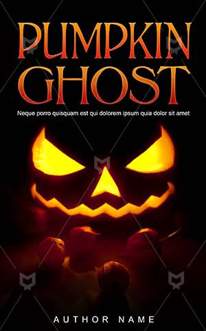 Horror-book-cover-pumpkin-halloween-ghost