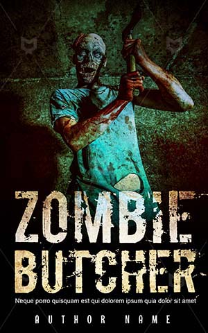 Horror-book-cover-zombie-butcher-scary